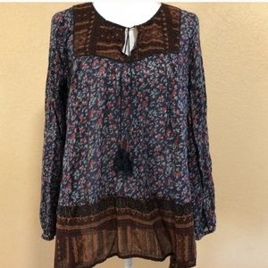 Free People peasant tunic top